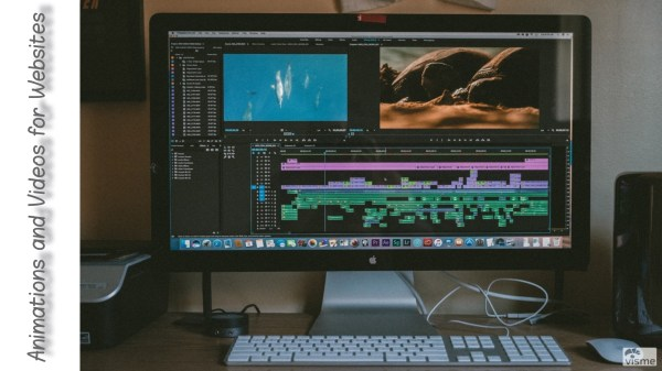 making web animations and videos for websites
