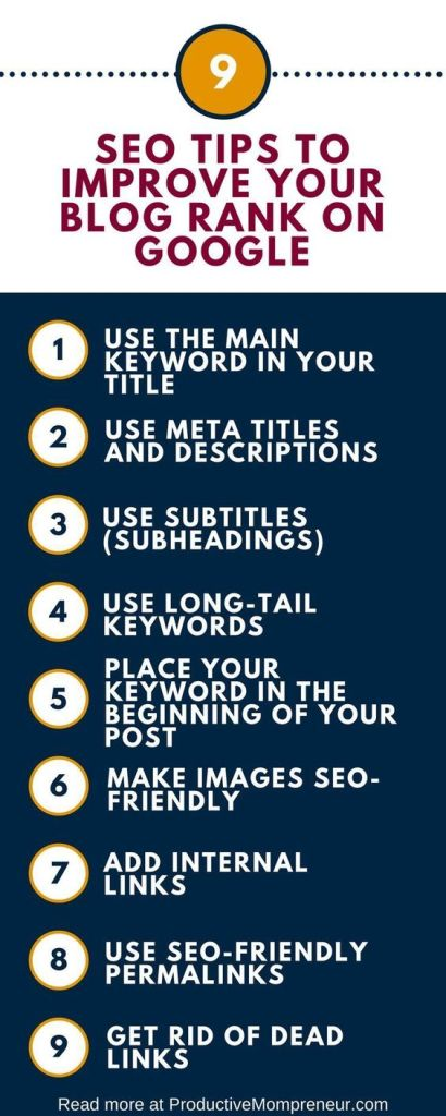 use keywords and titles and links for ranking on page one of google and bing search