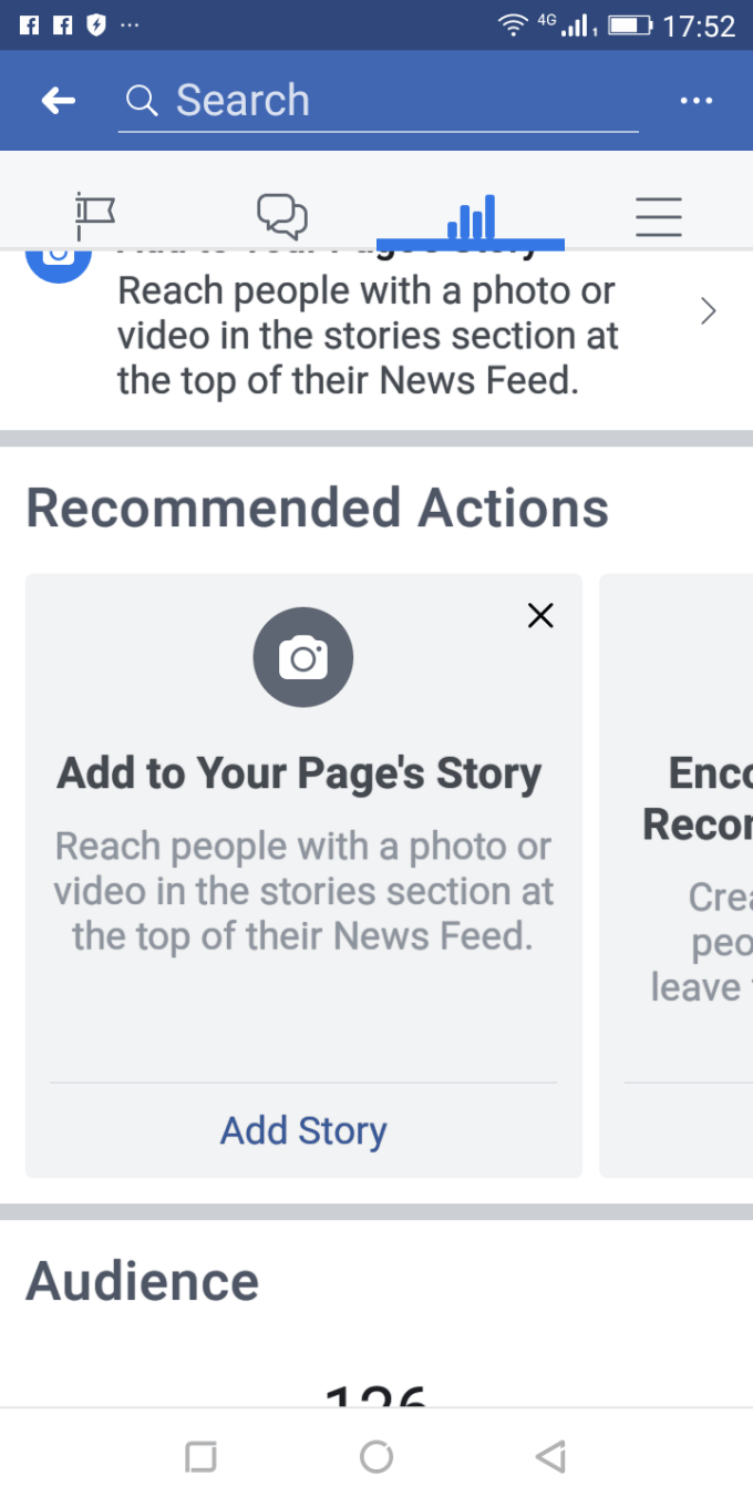 this fresh item by facebook mobile would show up at the news feed of your audience
