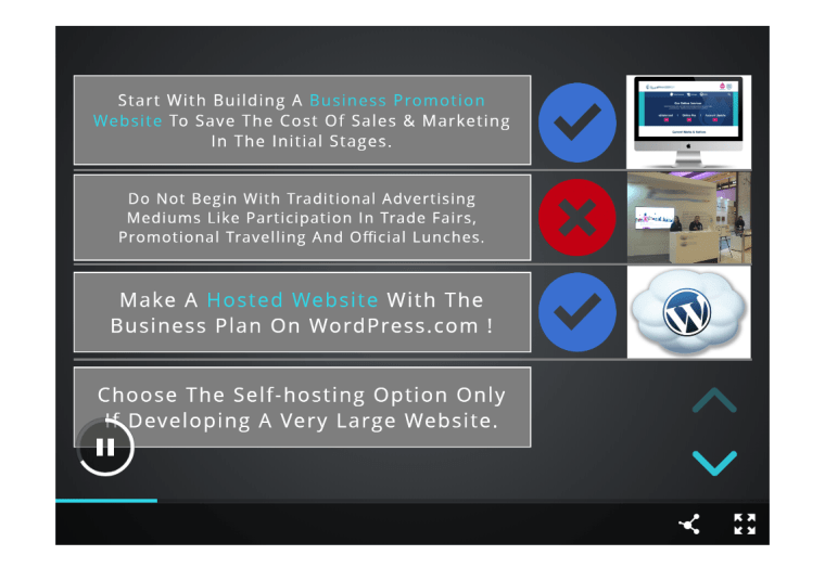 timer dial helping the audience at this user-friendly online slide designing portal