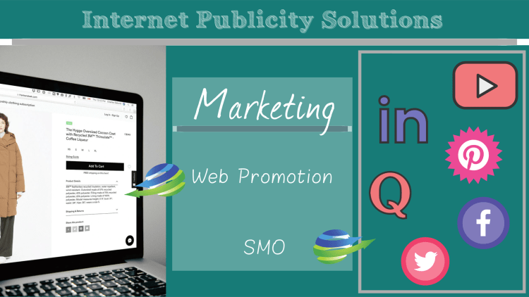 providing smo and retail portal construction and internet publicity solutions