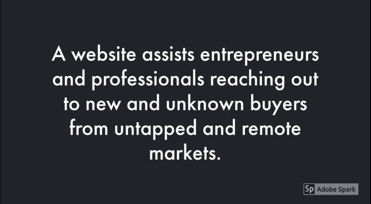 a website can assist firms procure fresh purchasers from untapped markets