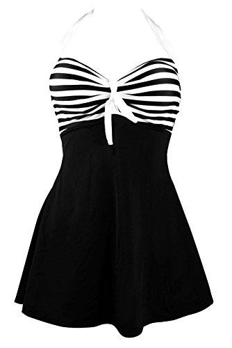 06c047697b Quicksilk Women s One piece Plus Size Swimdress Cover Up Swimsuit Tankini  (3X   22W-