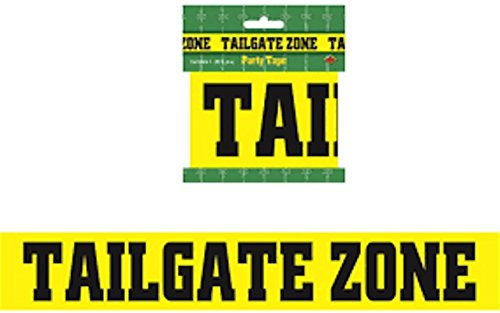TailGate Party Zone Football Game Tape