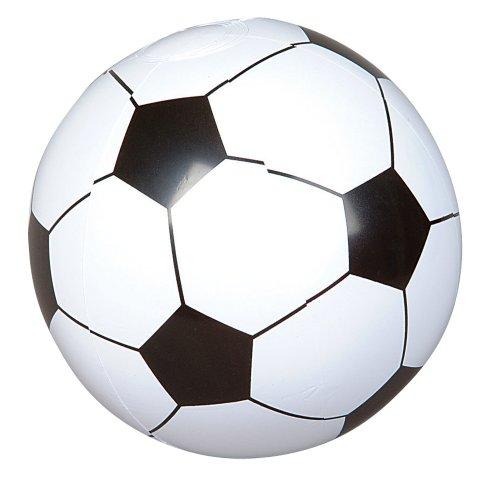 12 Soccer Ball Beach Balls Inflatable Fun Toy 1 Dozen