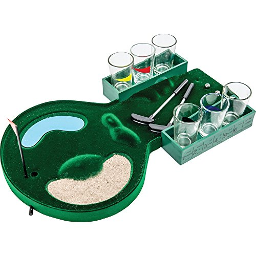 B&F SPDGOLF Golf Shot Glass Drinking Game Set