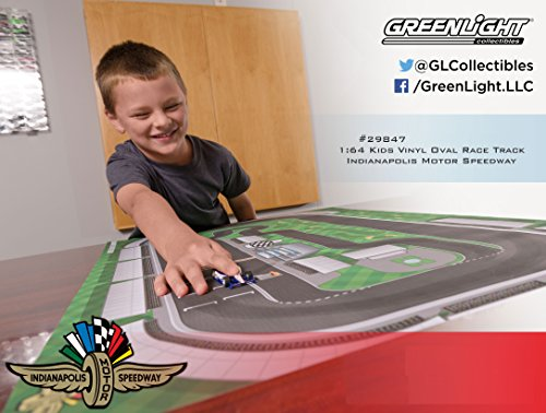 Indy 500 1:64 Scale Indianapolis Motor Speedway Vinyl Oval Nascar Race Track