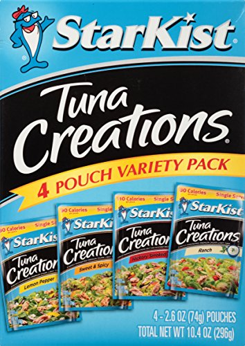 StarKist Tuna Creations, Variety Pack, 2.6 Ounce (Pack of 4)