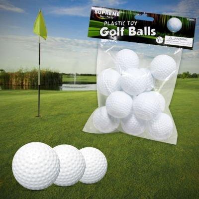 US Toy Plastic Golf Balls Game (1 Dozen)