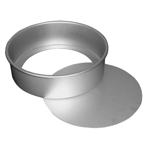 Fat Daddio's Anodized Aluminum Round Cheesecake Pan with Removable Bottom, 3 Inch by 2 Inch