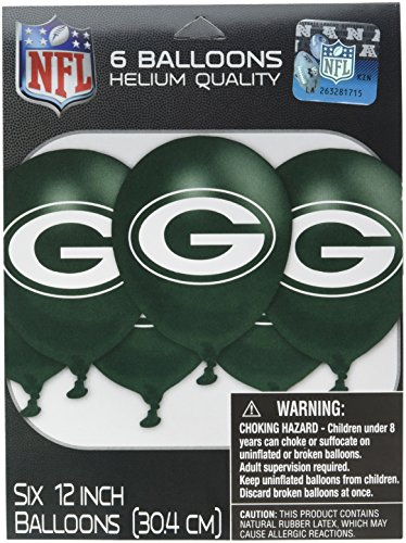 Amscan MLB Green Bay Packers Party Team Logo Balloon Decoration
