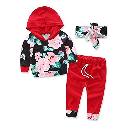 samgani baby Girls cotton printing T-shirt long pants Suit kids clothes Summer clothing (tag:80/6-12M)