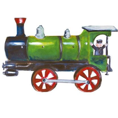 Stoomlocomotief, trein treintje stoomtrein