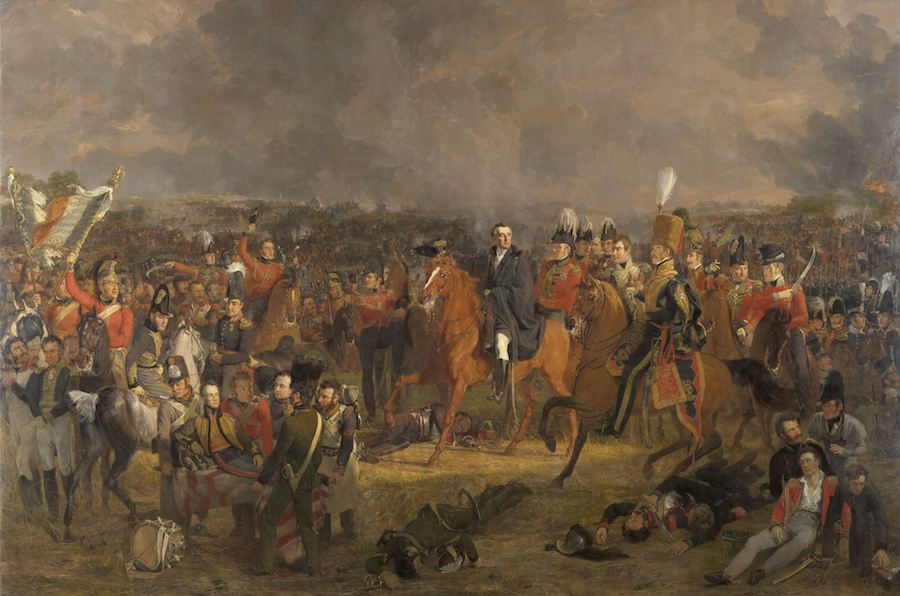 The Battle of Waterloo (1824)