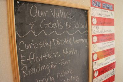 Our Values & Goals For School