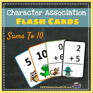 free printable math flash cards for kids addition facts