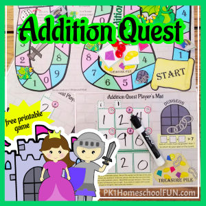 free math center game 3 digit addition