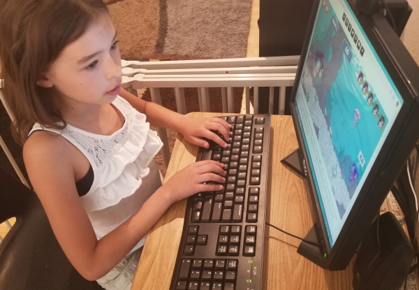 KidzType offers a lot of fun and free typing games for all levels