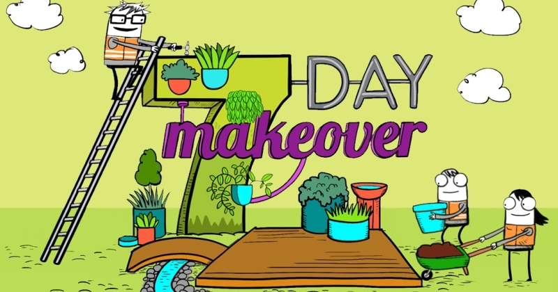 Creative Communities 7 Day Makeover graphic