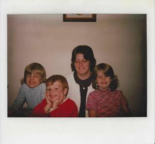 Mom, Veronica, Chuck, Me