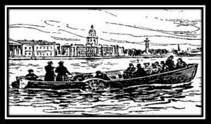 Лодка на неве Якоби Гальваника