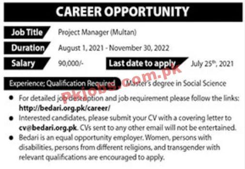 Jobs In Private Sector Multan