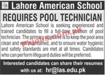 Jobs In Lahore American School