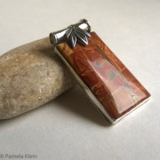 Cherry Creek Jasper Bamboo Pendant