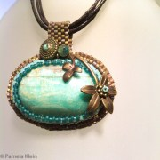 Amazonite Beaded Pendant