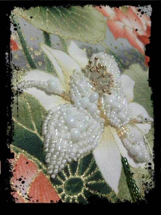 Bead Embroidered Quilt