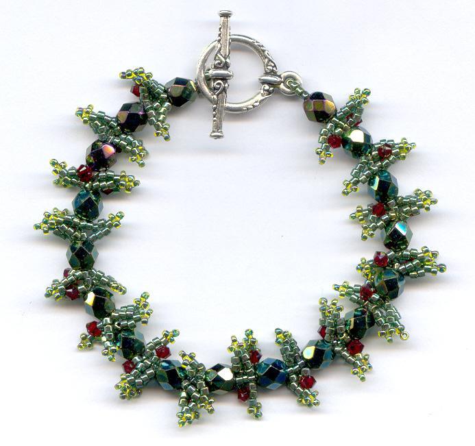 Holly Berries Bracelet