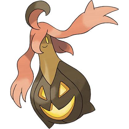 top 10 pokémon tipo fantasma Gourgeist