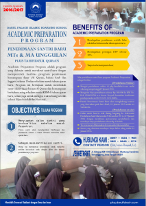 Academic Preparation Program