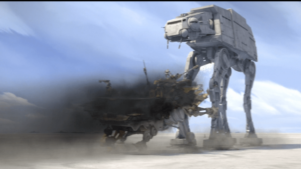 Scrappy little AT-TE.