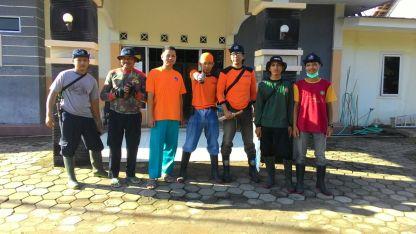 Tim MDMC Gunungkidul dan PKU Muhammadiyah Wonosari