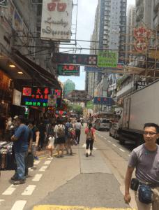 香港のストリート