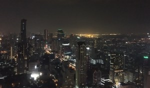 Sky Barからの夜景