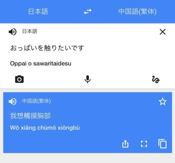 Google翻訳アプリ②