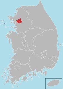 ソウルの位置