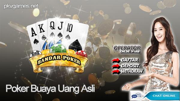 Poker Buaya Uang Asli