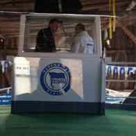 Kapitäns- und Kommandobrücke des Gründungsschiffes von Hertha BSC