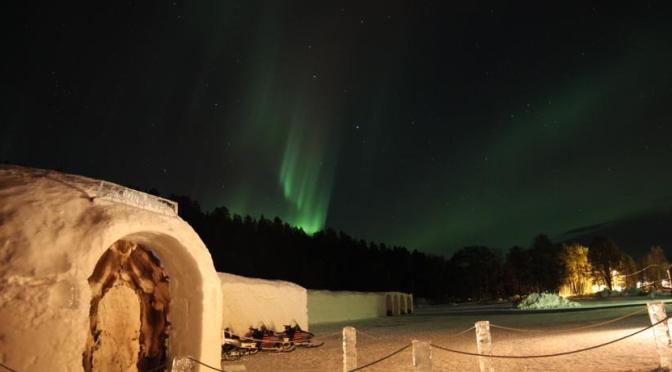 Hotele lodowe w Norwegii