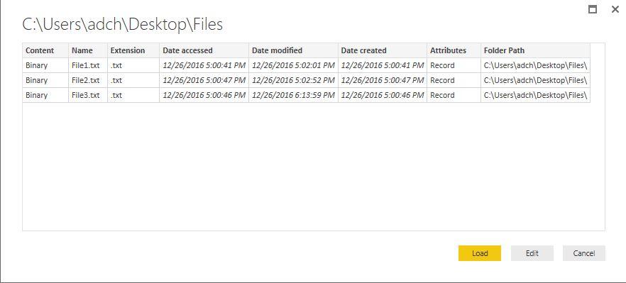 PowerBI-Folder-connection3