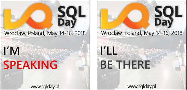 SQLDay_Iwillbethere