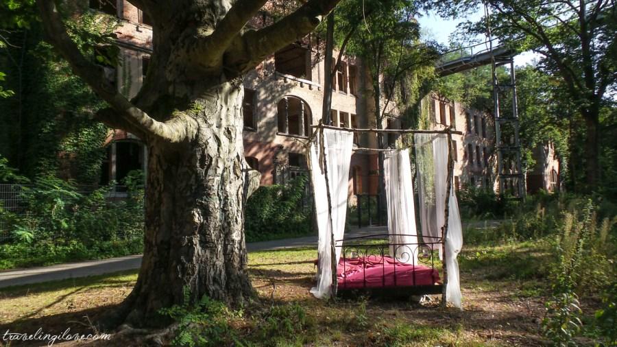 Alpenhaus łóżko