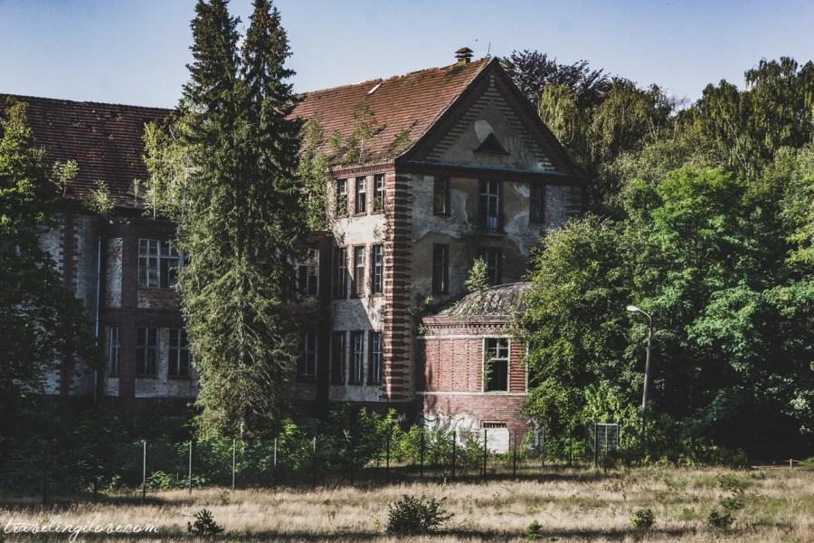 Beelitz Heilstätten - fragment budynku chirurgii