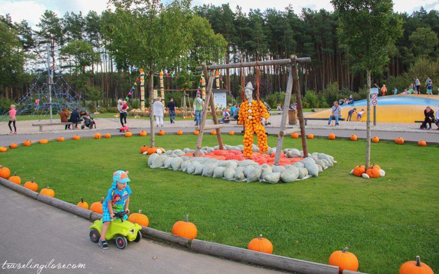 Festiwal dyni w Spargel und Erlebnishof Klaistow - atrakcje dla najmłodszych