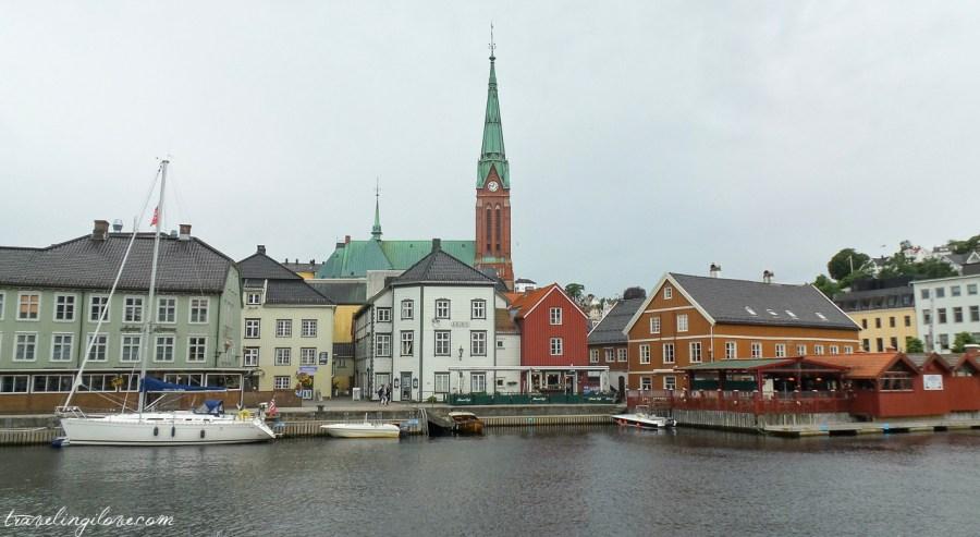 Arendal - południowe wybrzeże Norwegii, nie kraina Frozen