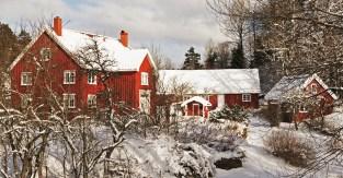 Norweska riwiera zimą