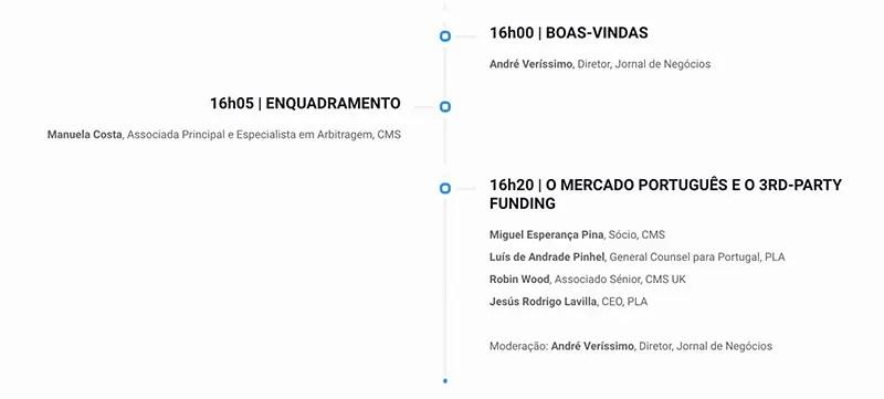 LITIGIOS en PORTUGAL